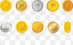 Gold Coin Set - Gold Coin Icon PNG