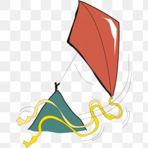 Hand-painted Kite-flying - Kite Drawing Illustration PNG