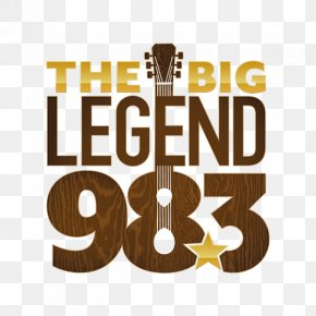 W252CM Nashville The Big Legend 98.3 Internet Radio Classic Country PNG