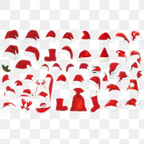 Atlas Christmas Hat - Santa Claus Christmas Hat PNG