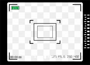 Viewfinder Frame For Digital Camera - Video Camera Film Frame Video Camera PNG
