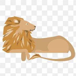 Cartoon Lion Vector - Lion Northern Giraffe Clip Art PNG