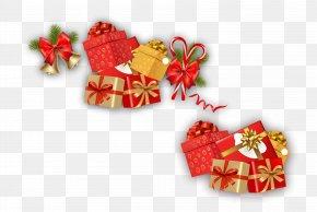 Christmas Gift - Gift Christmas Ribbon Shoelace Knot PNG