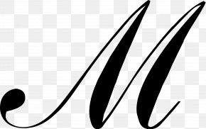 Peak Capital - M Script Typeface Cursive Font PNG