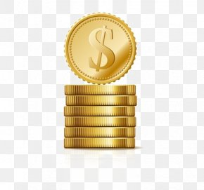 Gold Coin - Coin Royalty-free Stock Photography Illustration PNG