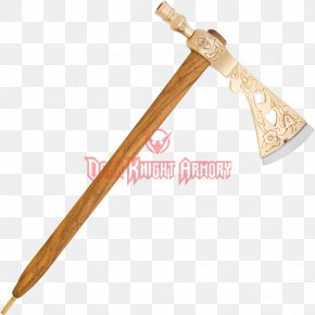 Peace Pipe - Splitting Maul Tomahawk Battle Axe Throwing Axe PNG
