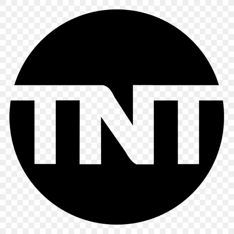 TNT Logo United States Television Turner Broadcasting System, PNG, 1000x1000px, Tnt, Black And White, Brand, Broadcasting, Logo Download Free