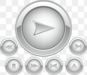 Vector Play Button - Euclidean Vector Download Button Icon PNG
