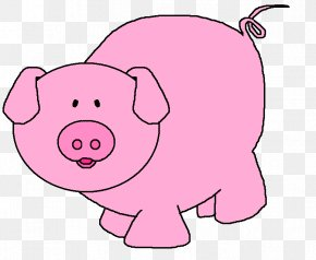 Cartoon Pigs Pictures - Domestic Pig Pig Roast The Three Little Pigs Clip Art PNG