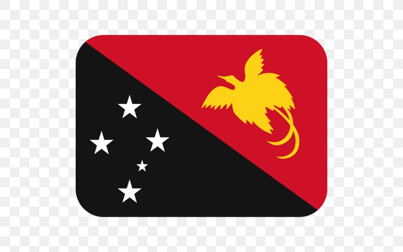 Flag Of Papua New Guinea National Flag, PNG, 512x512px, Flag Of Papua New Guinea, Emoji, Flag, Flag Of The United States, Flags Of The World Download Free