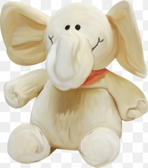 Baby Elephant - Birman Stuffed Toy Elephant PNG