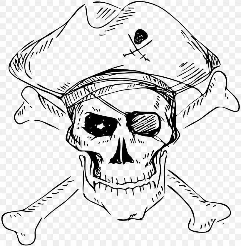 Piracy Skull And Crossbones Stock Photography Human Skull Symbolism, PNG, 4000x4098px, Skull, Art, Artwork, Black And White, Bone Download Free