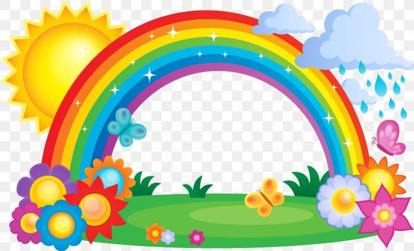 Rainbow Cloud Clipart
