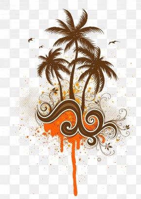 Coconut Tree Vector Material - Coconut Water Arecaceae Clip Art PNG