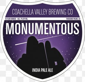 Monument Valley - Beer Coachella Valley Brewing Company Brewery India Pale Ale Rye IPA PNG