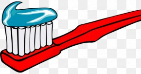 Toothbrush - Toothbrush Mouthwash Tooth Brushing Clip Art PNG