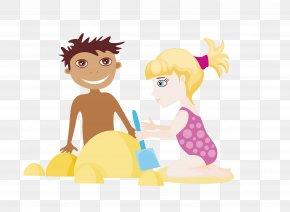 Foreign Children - Cartoon Summer Clip Art PNG