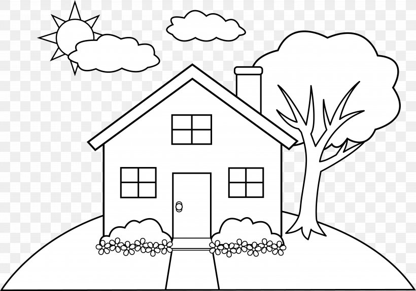 - Gingerbread House Coloring Book Child Room, PNG, 5705x4001px, Watercolor,  Cartoon, Flower, Frame, Heart Download Free