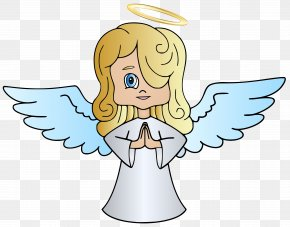 Angel Clip Art Image - Angel Cartoon Clip Art PNG