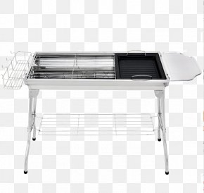 Stainless Steel Grill - Barbecue Furnace Kebab Charcoal Gridiron PNG