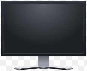 LCD Display Monitor Image - Computer Monitor Liquid-crystal Display Clip Art PNG