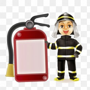Firefighters And Fire Extinguishers - Firefighter Fire Extinguisher Firefighting Fire Station Fire Hydrant PNG