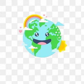 Cartoon Earth - Earth World Environment Day Cartoon Cuteness PNG