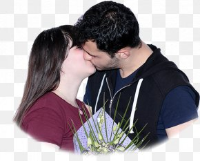 Couple Kissing - Love Kiss Romance Intimate Relationship Friendship PNG