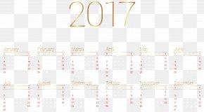 Calendar 2017 Transparent Image - Paper Graphic Design Brand Pattern PNG