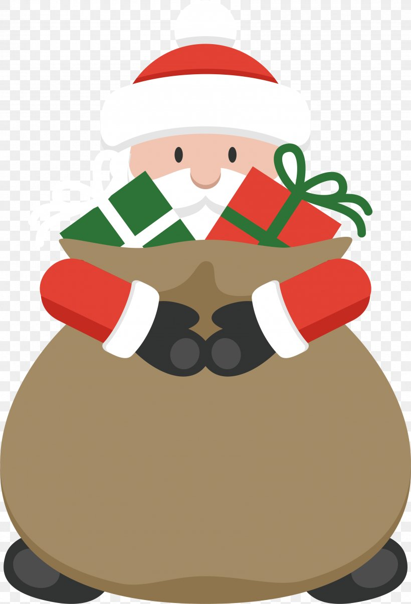 Santa Claus Christmas Day Vector Graphics Image, PNG, 3389x4978px, Santa Claus, Christmas, Christmas Day, Christmas Decoration, Christmas Gift Download Free