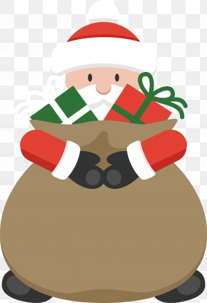 Bail Hay - Santa Claus Christmas Day Vector Graphics Image PNG