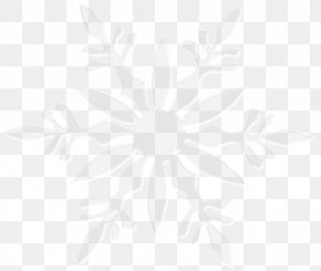 Snowflake Image - Symmetry Line Angle Black And White Pattern PNG