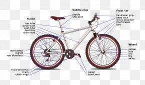 Bikes - Bicycle Cranks Sprocket Bottom Bracket Cycling PNG