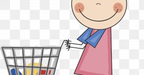 Girls Shopping - Drawing Cartoon Film Producer Clip Art PNG