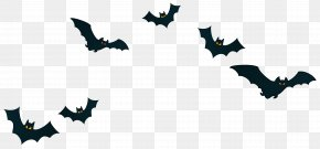 Halloween Bats Decor PNG Clipart Image - Halloween Trick-or-treating Jack-o'-lantern Clip Art PNG