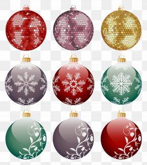 Christmas Decoration Ball Free Matting - Christmas Ornament Ball Christmas Decoration PNG