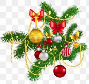 Christmas Decoration - Rudolph Christmas Decoration Christmas Ornament Clip Art PNG