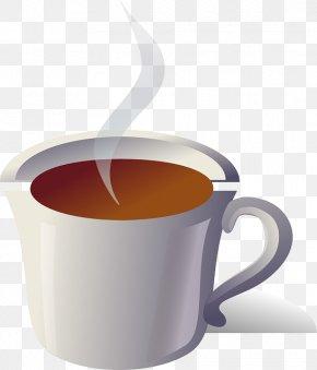 Tea Shop Background - Green Tea Coffee Teacup Clip Art PNG