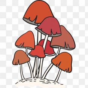 Mushroom,fungus - Edible Mushroom Fungus Euclidean Vector Food PNG