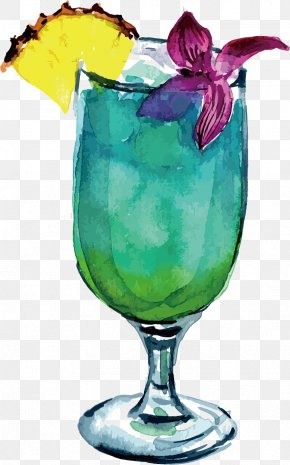 Vector Drink - Watercolor Painting Drawing Drink Clip Art PNG