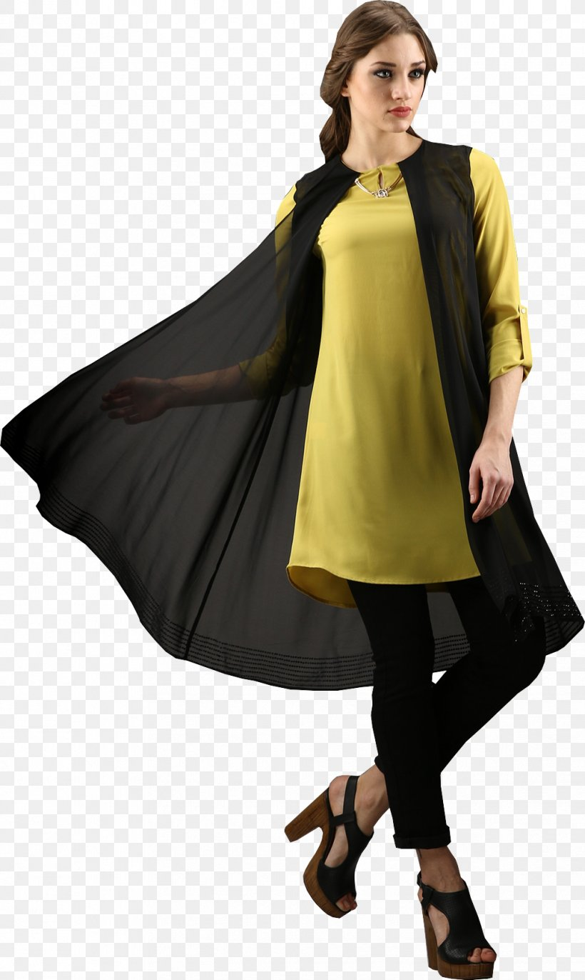 Blue Yellow Woman, PNG, 1018x1704px, Blue, Black, Black And White, Cape, Clothing Download Free