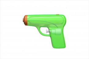 Gun - Emoji Firearm IPhone IOS 10 Water Gun PNG