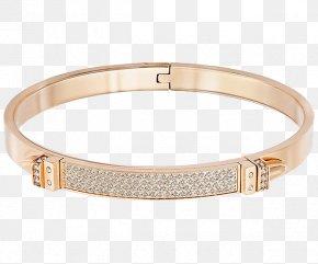 Swarovski Jewelry Narrow Bracelet - Bangle Swarovski AG Bracelet Jewellery Gold Plating PNG