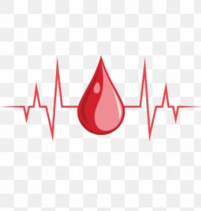 Vector Blood Heartbeat - Blood Icon PNG