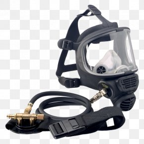 Mask - Full Face Diving Mask Respirator Self-contained Breathing Apparatus Scott Safety PNG