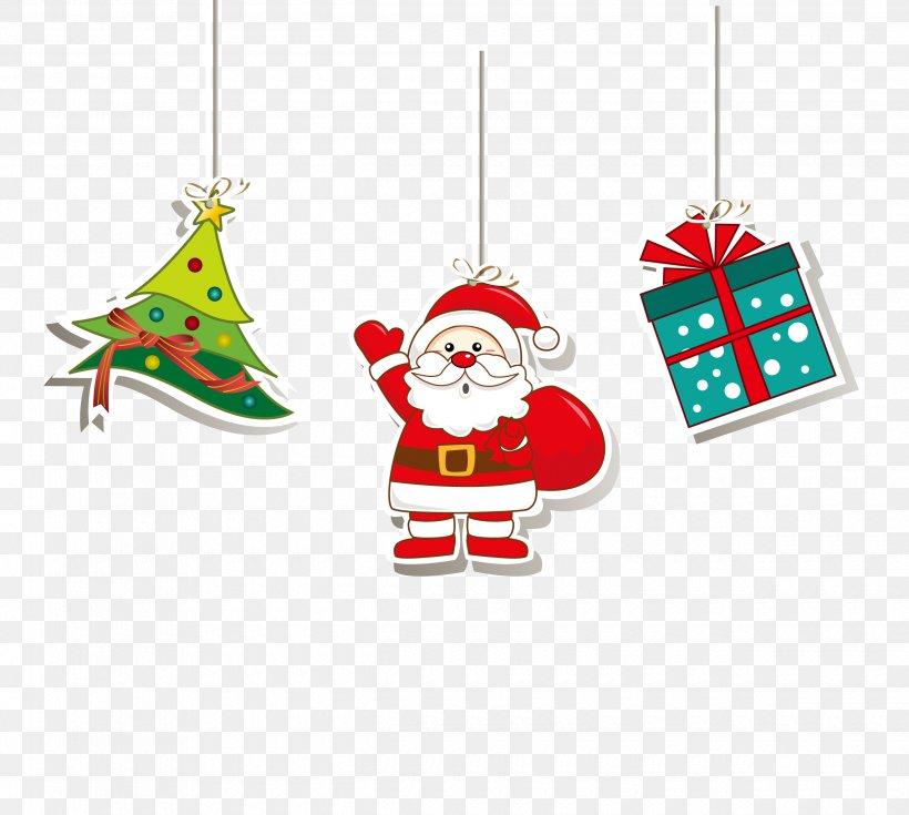 Santa Claus Christmas Tree Gift, PNG, 2480x2225px, Santa Claus, Art, Christmas, Christmas Decoration, Christmas Gift Download Free