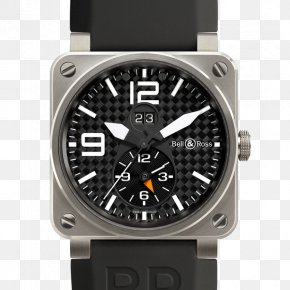 Watch - Bell & Ross Aviation BR0392-MIL-CE Watch Power Reserve Indicator Rolex GMT Master II PNG