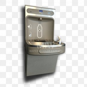 Airport Water Refill Station - Drinking Fountains Elkay Manufacturing Water Cooler Water Filter PNG