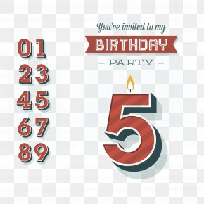 Happy Birthday Poster Decoration - Poster Happy Birthday To You PNG