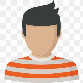 Wearing A Striped Shirt Boys - Avatar User Profile Icon PNG